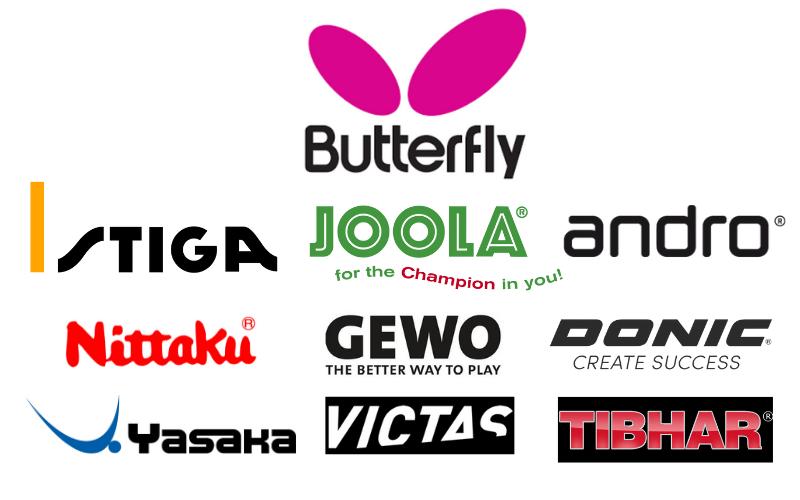 Die 10 besten Tischtennis Marken