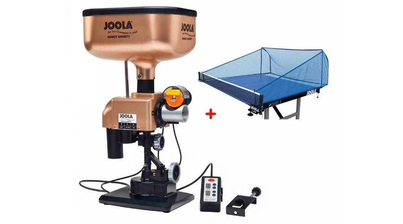 Joola Shorty Tischtennis Roboter Test